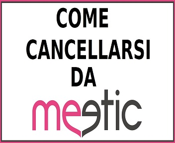 cancellarsi da meetic