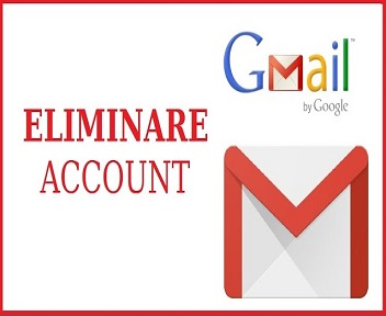 eliminare account gmail