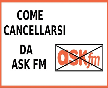 cancellarsi da ask fm